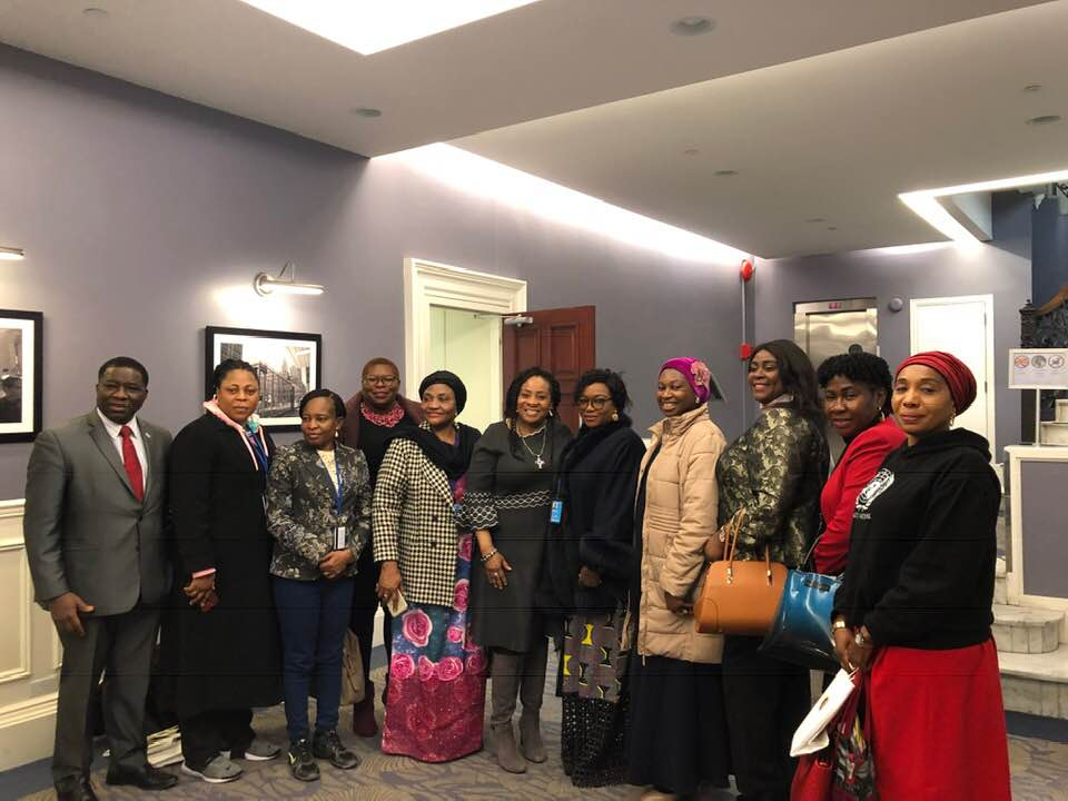 CSW64 with Her Excellency Martha Udom
