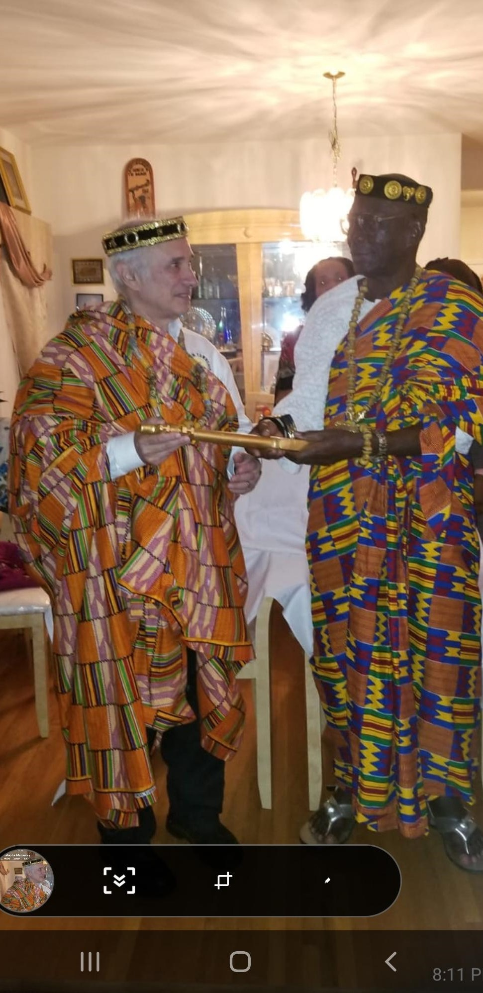 CULTURAL EXCHANGE BETWEEN TOGO & FRANKLIN TOWNSHIP